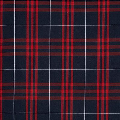 Checkered – Navy Red