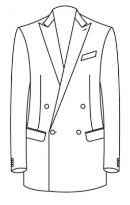 Peak Lapel – Double Breasted